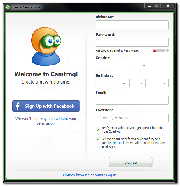 free 10 6 camfrog mb chat code 6 download weight