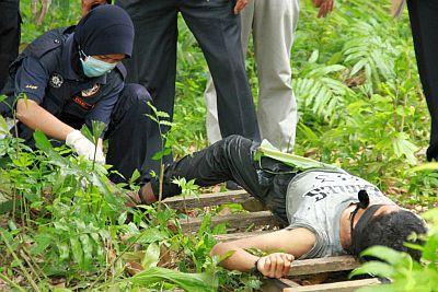 berita,mayat kena ikat di padang siding perlis,kes mayat ditemui di perlis
