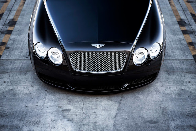 black bentley continental