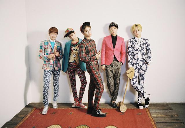 Shinee's Dream Girl group teasers + Taemin's fashion