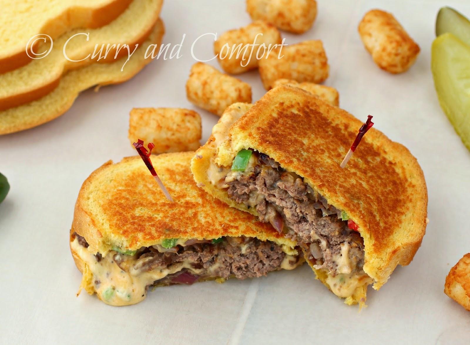 Kitchen Simmer: Jalapeno Pimento Cheese Beef Patty Melts