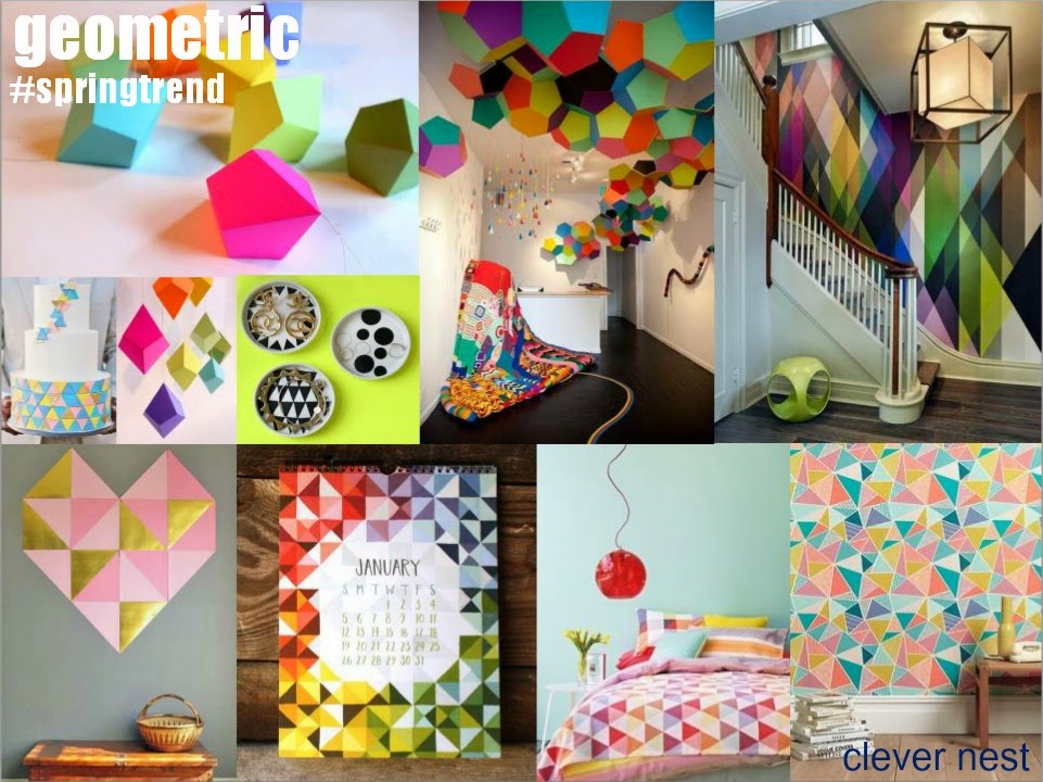 The top Spring 2014 trends #Jo-Ann #Jo-Ann_coupon #crafting_coupon #craftsupplycoupon #springcraft #crafttrends #sewingcoupon #clevernest