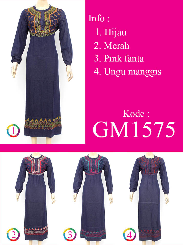 Gamis Cantik Muslimah GM1575