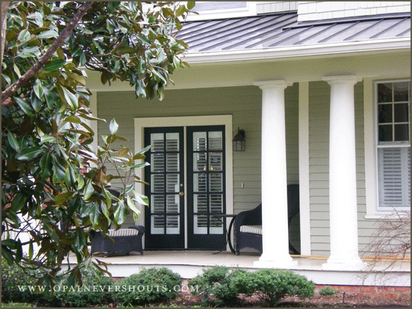 Exterior colour choices our hampton style forever home - Exterior window paint colours style ...