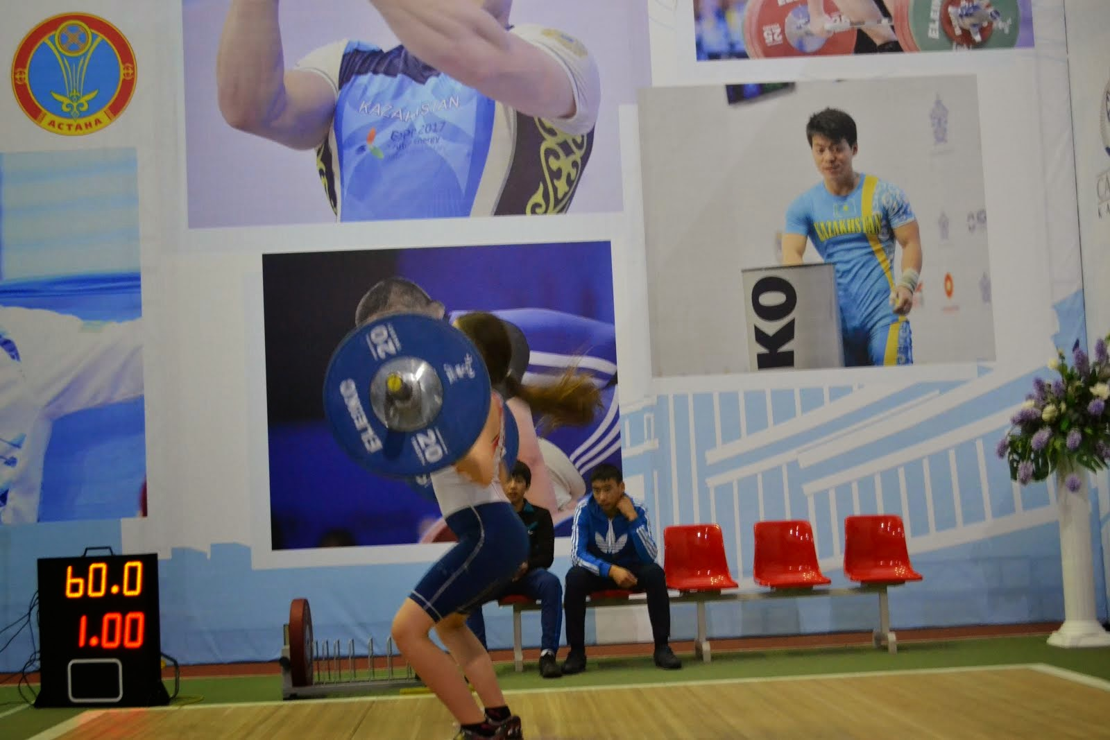 LG Gwendolyn Rojas at the 2015 Kazakhstan Youth Nationals