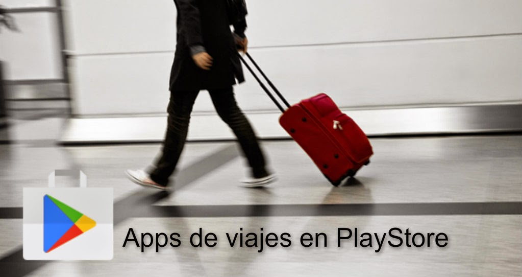 Apps de viajes en PlayStore