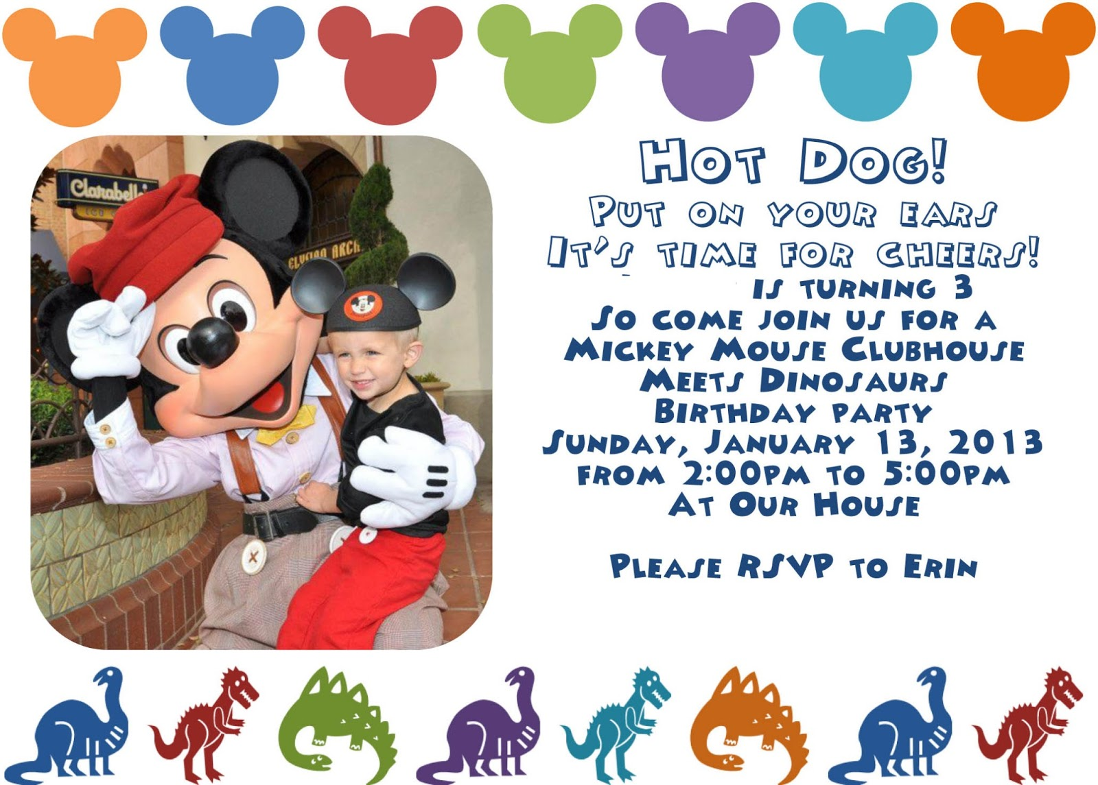 Taking Time To Create: Mickey Mouse Clubhouse Birthday Party {Lots ...