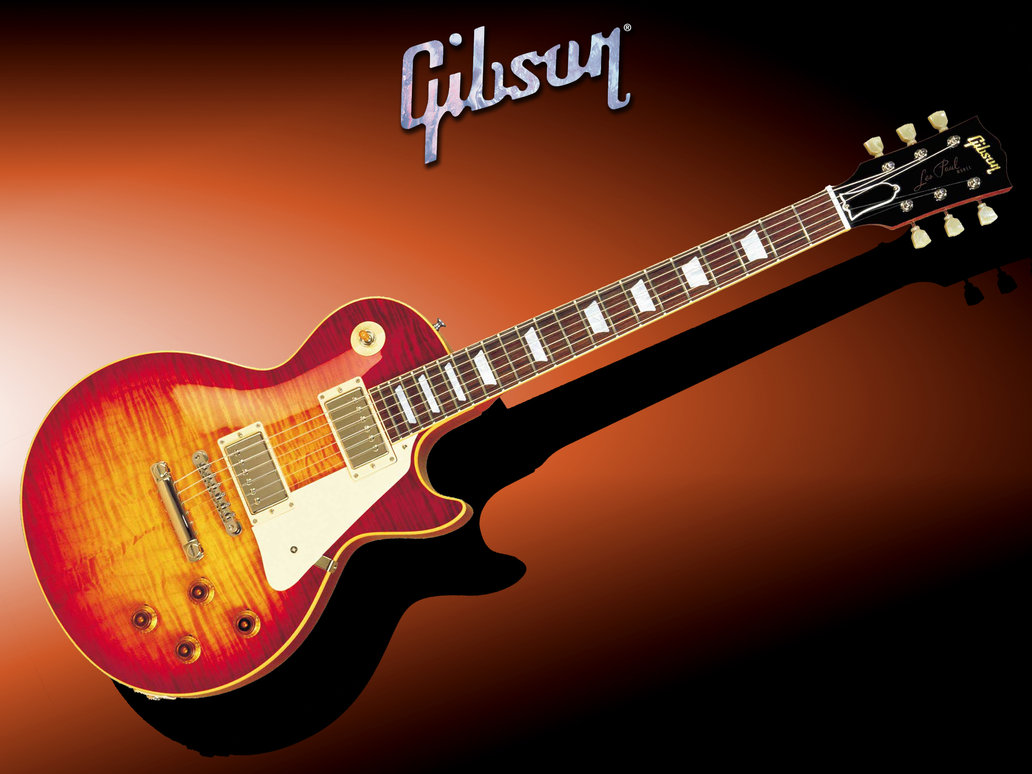 Wallpaper Gibson Les P...