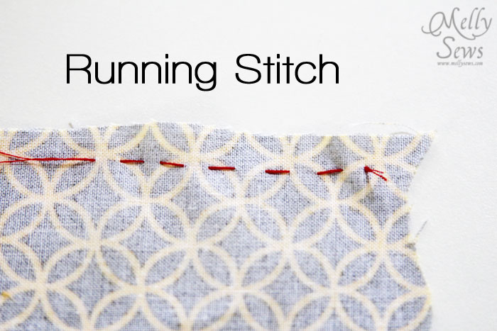 Hand sewing stitches for clothes melly sews