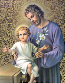 St. Joseph with the baby Jesus