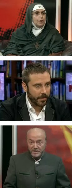 Mother Agnes Mariam, Jeremy Scahill, and George Gallaway