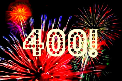 Who will be the 400th forum member Celebrate+400