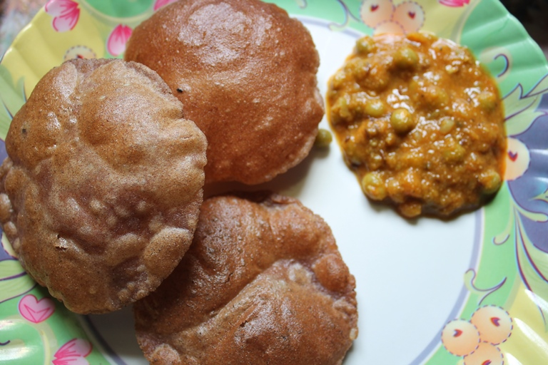 Ragi Poori Recipe / Finger Millet Poori Recipe