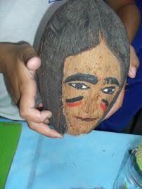 Artesanato com coco