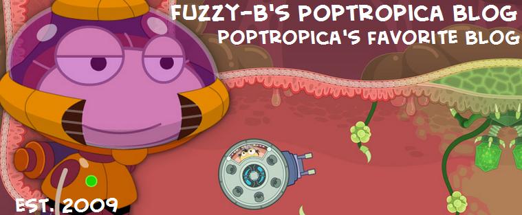 Fuzzy-B's Poptropica Blog