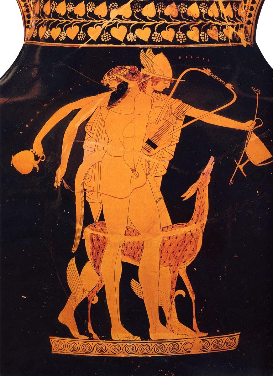 アトリエ・マイルストン 古代ギリシャの壺絵