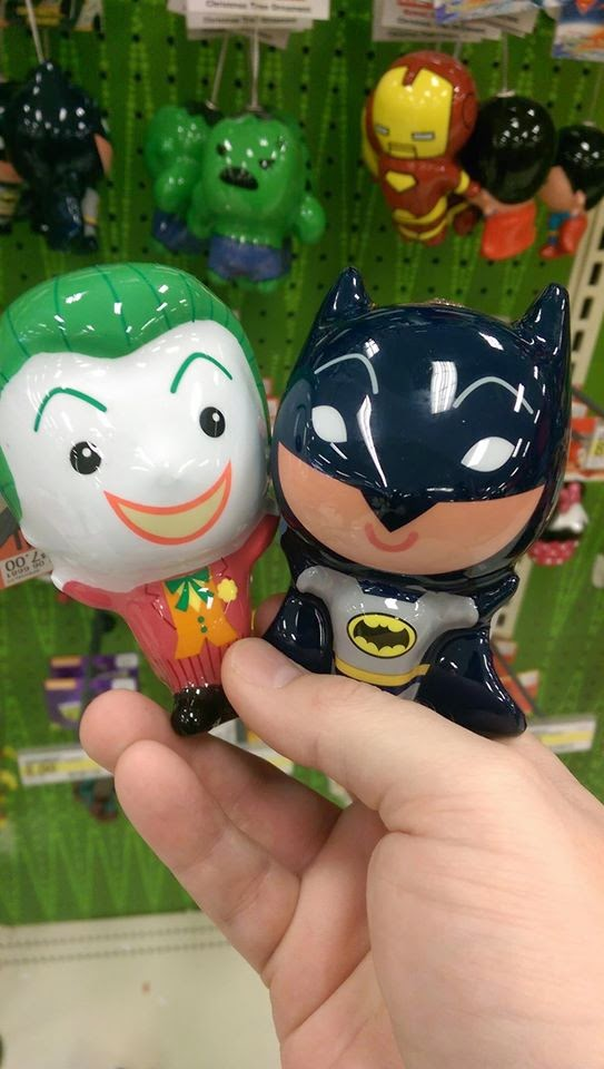 TARGET Has Classic 1966 TV #BATMAN and #JOKER Christmas Ornaments ...