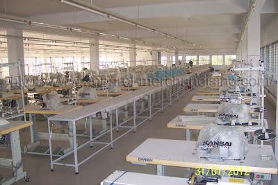 machine clothing line