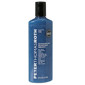 Peter Thomas Roth, Peter Thomas Roth body wash, Peter Thomas Roth exfoliator, Peter Thomas Roth scrub, Peter Thomas Roth body scrub, Peter Thomas Roth Botanical Buffing Beads, buffing beads, exfoliator, scrub, body scrub, body wash, shower gel