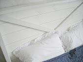 Min egentillverkade sänggavel!