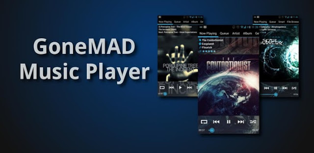GoneMAD Music Player FULL v1.4.4 APK