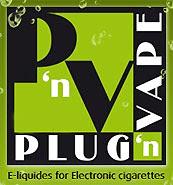 Eliquide pour cigarette electronique PLUG'N'VAPE