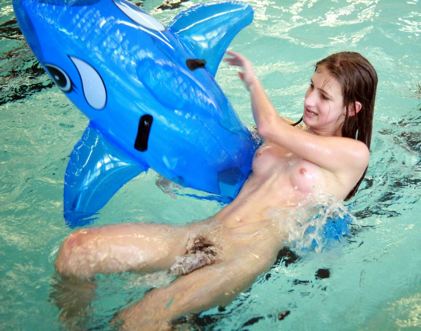 Fucked in water park