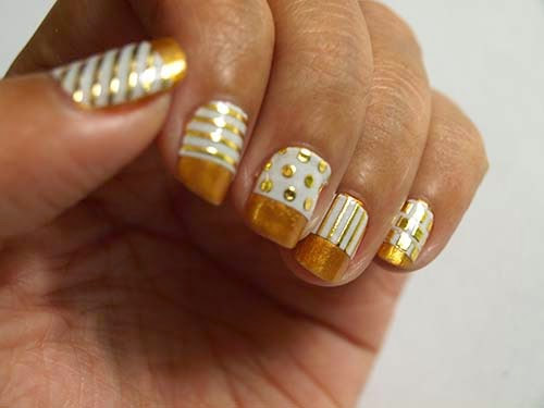 That Drugstore Nail Polish Gold Standard Nail Design Nail