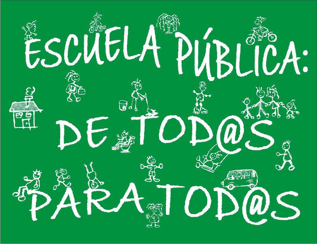 Apoyamos la escuela pública