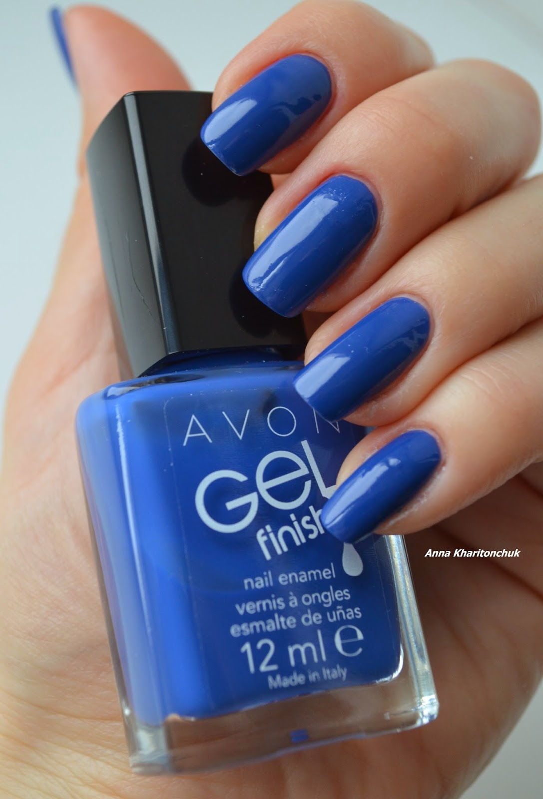 Avon Gel Finish Royal Vendetta