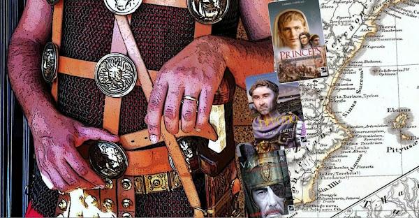 Gabriel Castello, autor de novela histórica ambientada en la antigua Roma