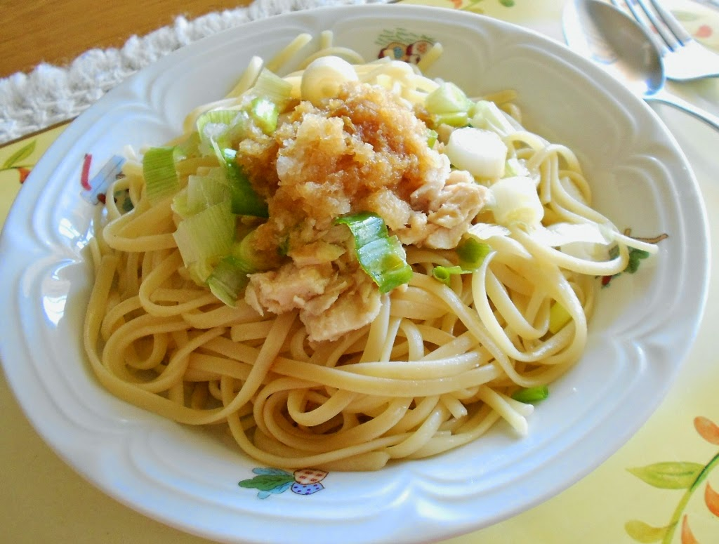 ... : Yummy Pasta for Summer time - Tuna & Grated Daikon Radish Pasta