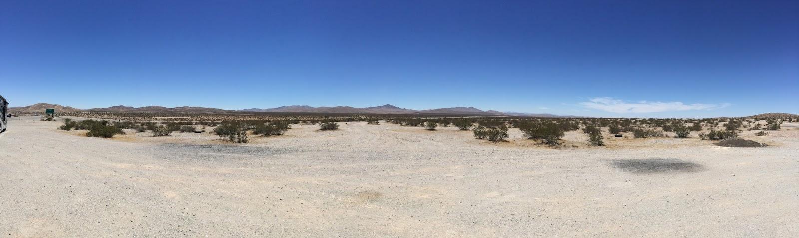 LA to Las Vegas panorama