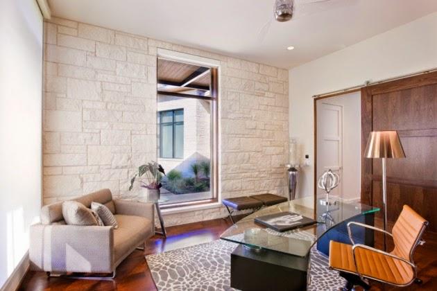 Fotos de oficinas modernas y acogedoras colores en casa for Oficina moderna en casa