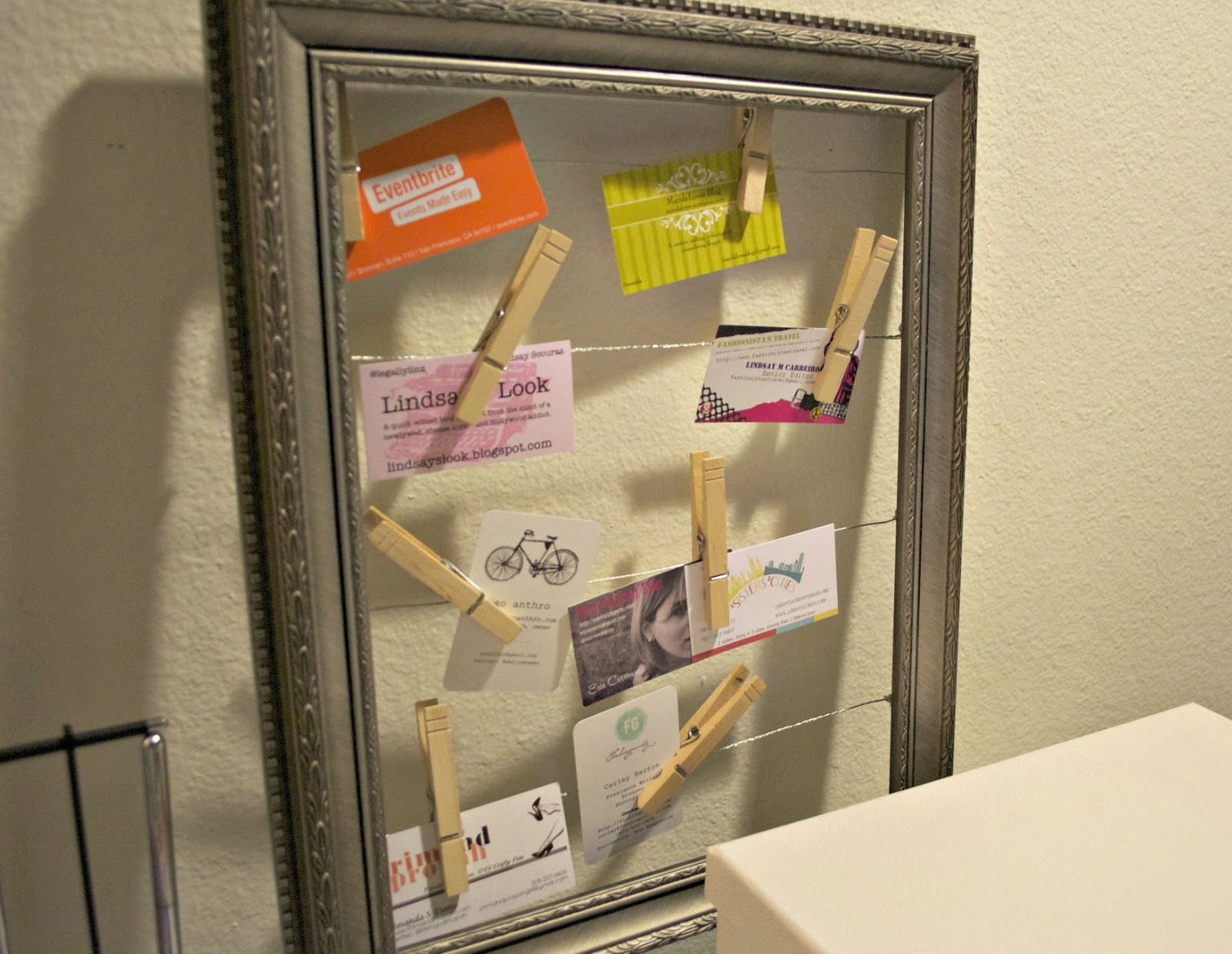 Diy business card storage office update sara levine diy business card storage office update reheart Choice Image