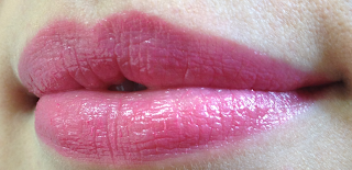 l'oreal caresse by colour riche lipstick swatches blushing sequin