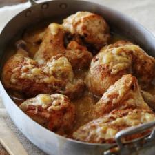 Pollo al queso...