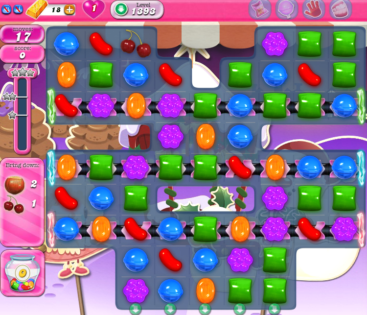 Candy Crush Saga 1393