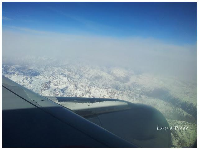 Desde Buenos Aires a Santiago de Chile Cordillera de los andes