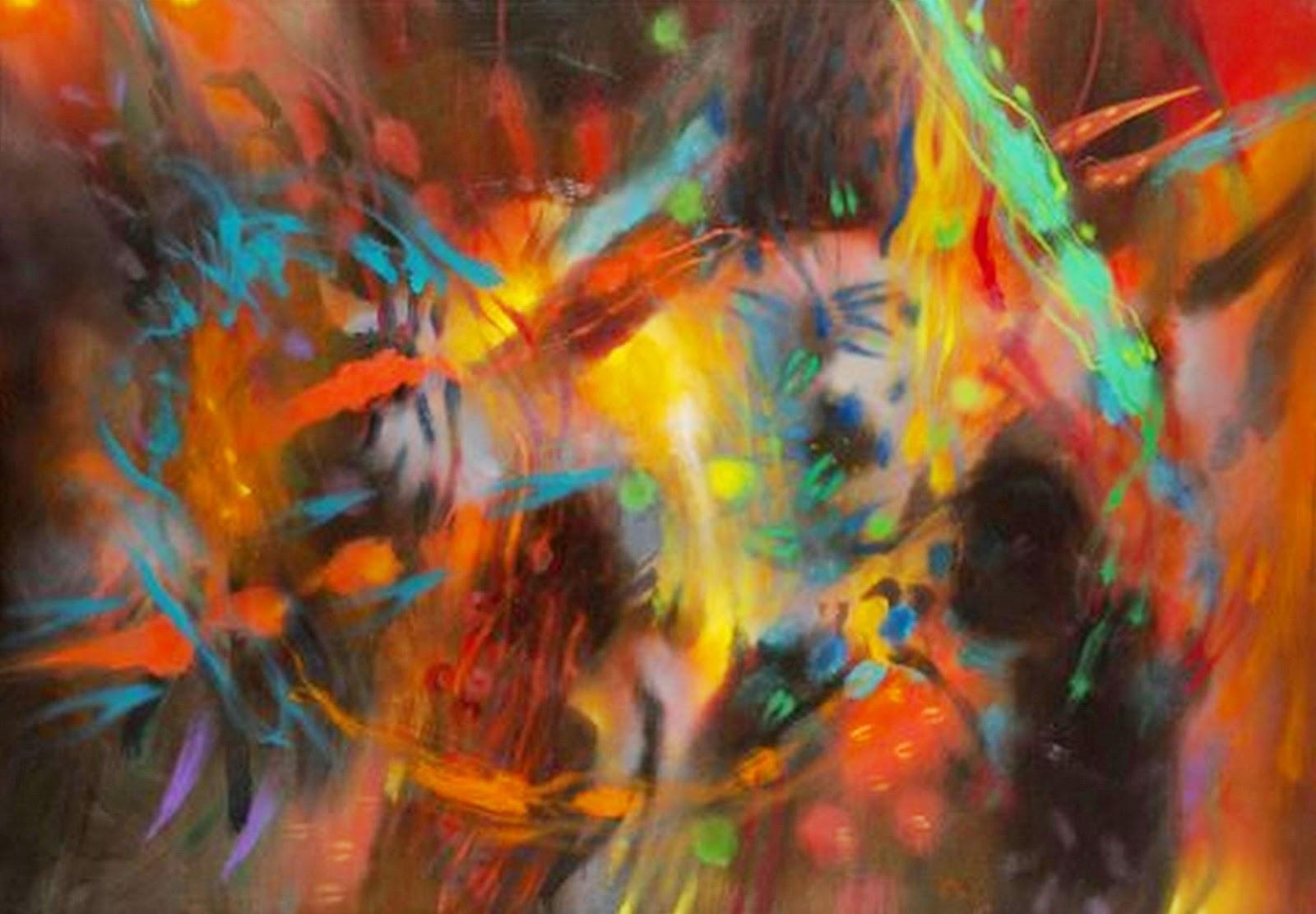 Cuadros pinturas oleos pinturas modernas - Pinturas de pared modernas ...