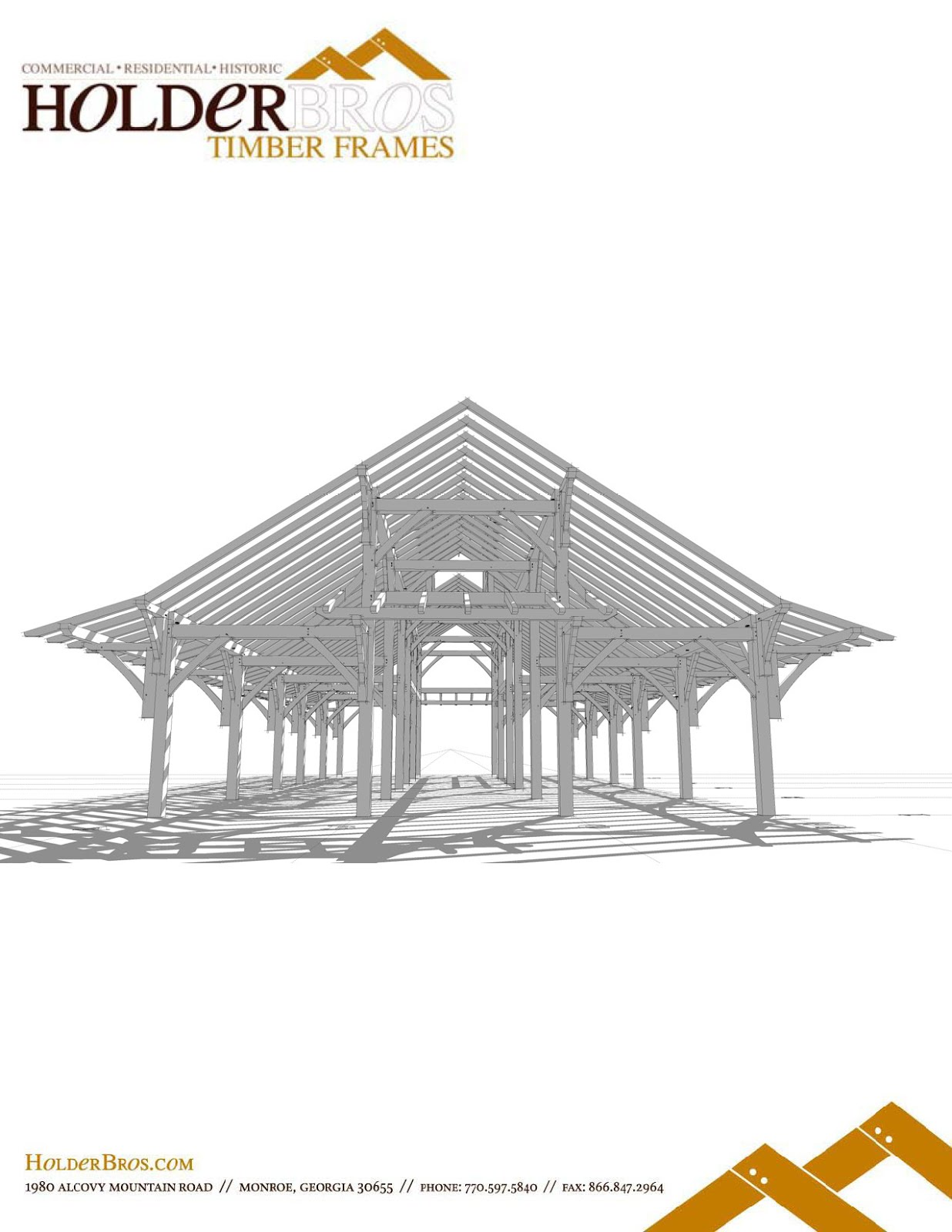 A traditional timber framing blog...