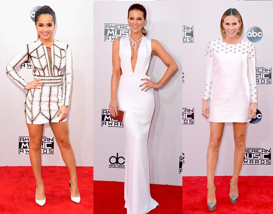 vestido, branco, look, American Music Awards, 2014