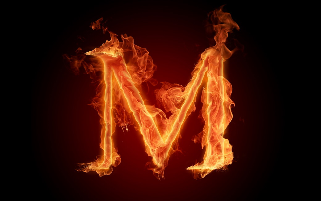Fire Alphabet W... D Alphabet Wallpapers