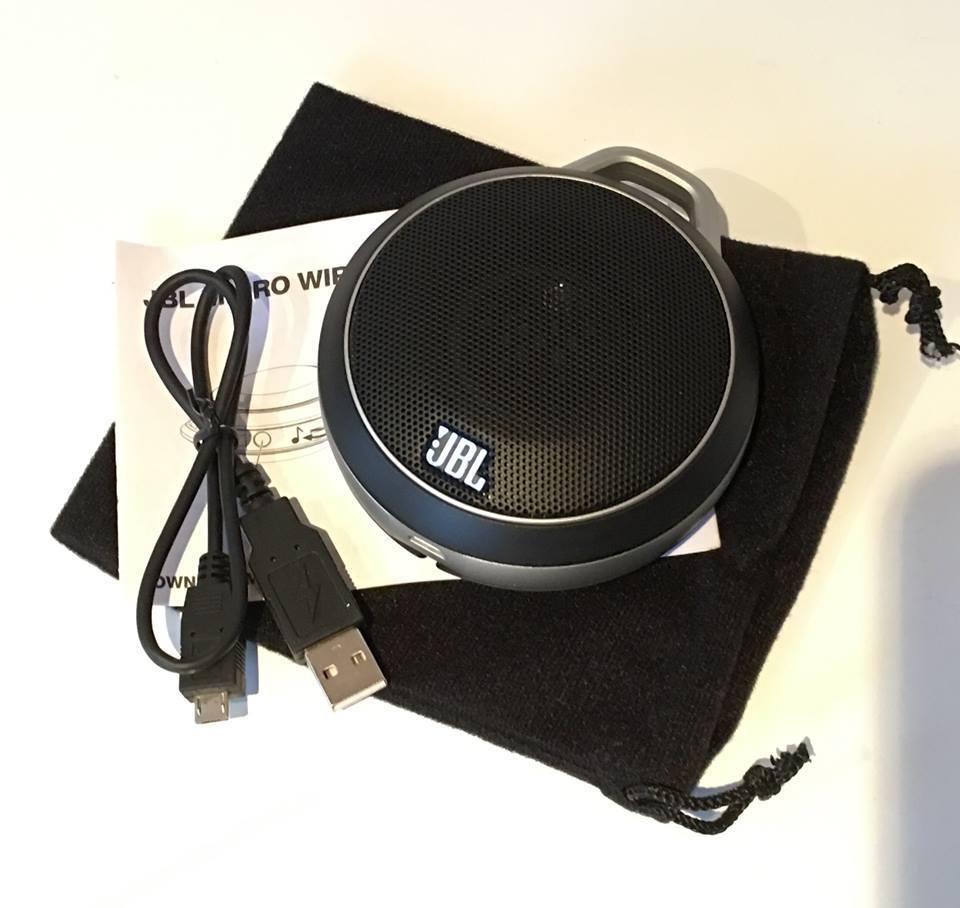 jbl micro haut parleur sans fil bluetooth noir ref3 ebay. Black Bedroom Furniture Sets. Home Design Ideas