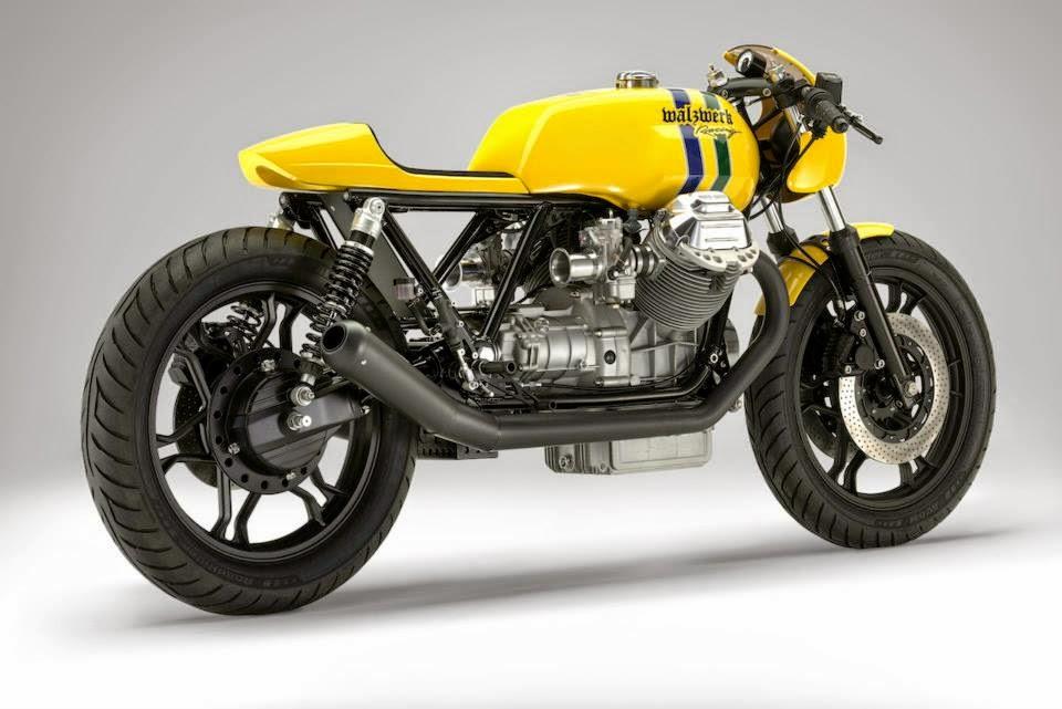 racing caf moto guzzi le mans the senna tribute bike. Black Bedroom Furniture Sets. Home Design Ideas