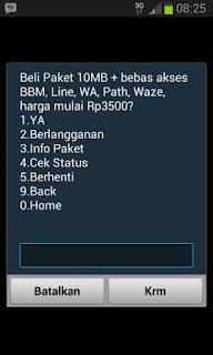 Paket Internet Social Max Harian 10 MB