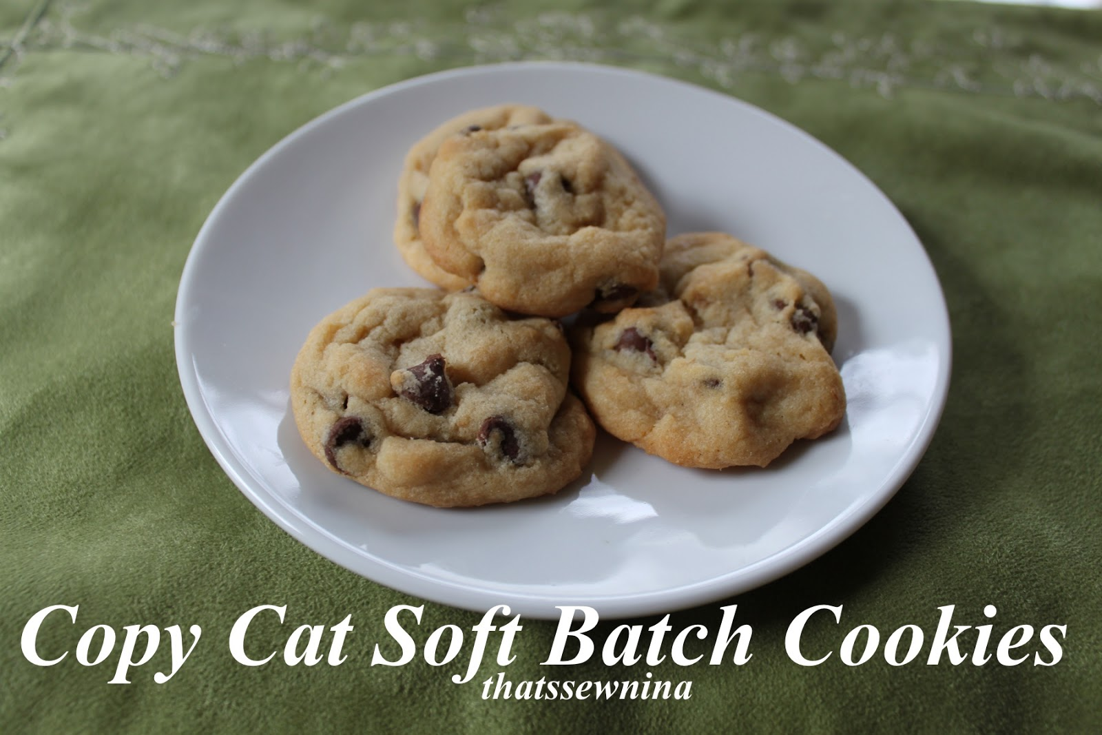 "thatssewnina: ""Copy Cat"" Soft Batch Cookies"