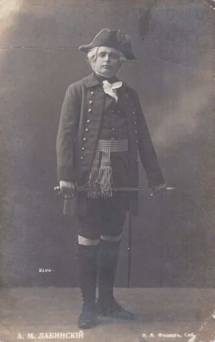 RUSSIAN TENOR ANDREI LABINSKY (1871-1941) CD