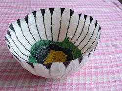 Sådan laver du skulpturelle skåle......