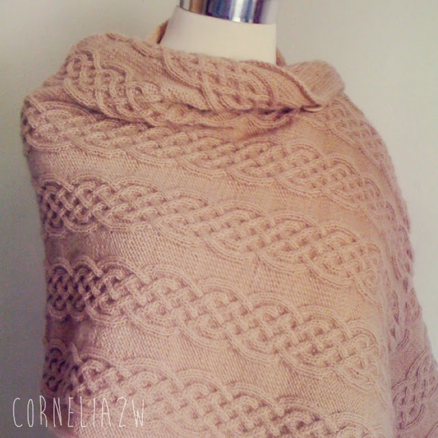 Celtic Cable Shawl